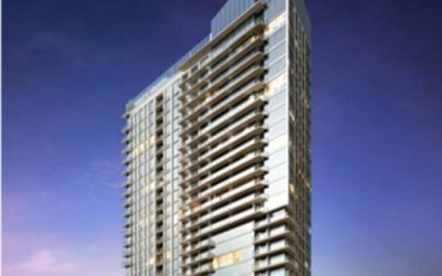 Greco Awarded railing package for high-rise tower in Austin TX.
