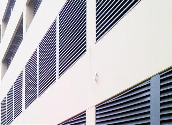 Elizabeth Square Apartments – Louvers