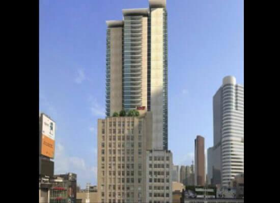 Mirage Condominiums – Glass Railings