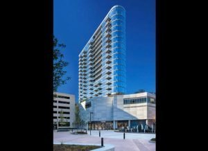 New City Apartments in Chicago with Glass Railings - small