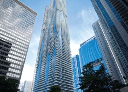 Aqua Condominiums – Picket Railings