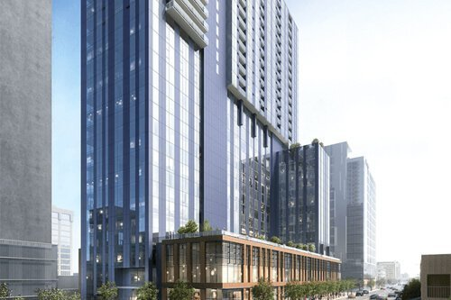 New Mixed-Use High-Rise in Austin