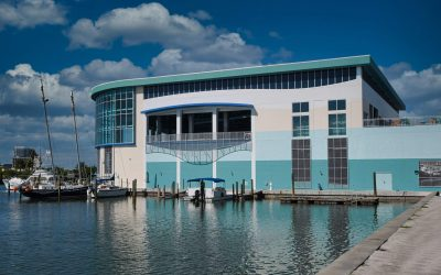 GRECO'S Custom Metal Screens Create Unique Architectural Elements for Clearwater Marine Aquarium