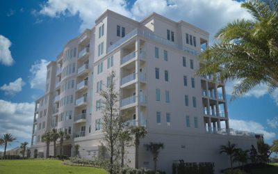 Luxury Mid-rise Condo's in Belleair, FL Uses GRECO's Impact Rated Glass Railings