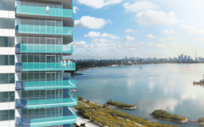 Greco Aluminum Railings Awarded for Toronto Waterfront High-Rise