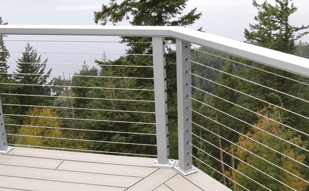 Horizontal Cable Railing system