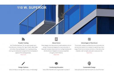Greco Aluminum Railings Launches New Website
