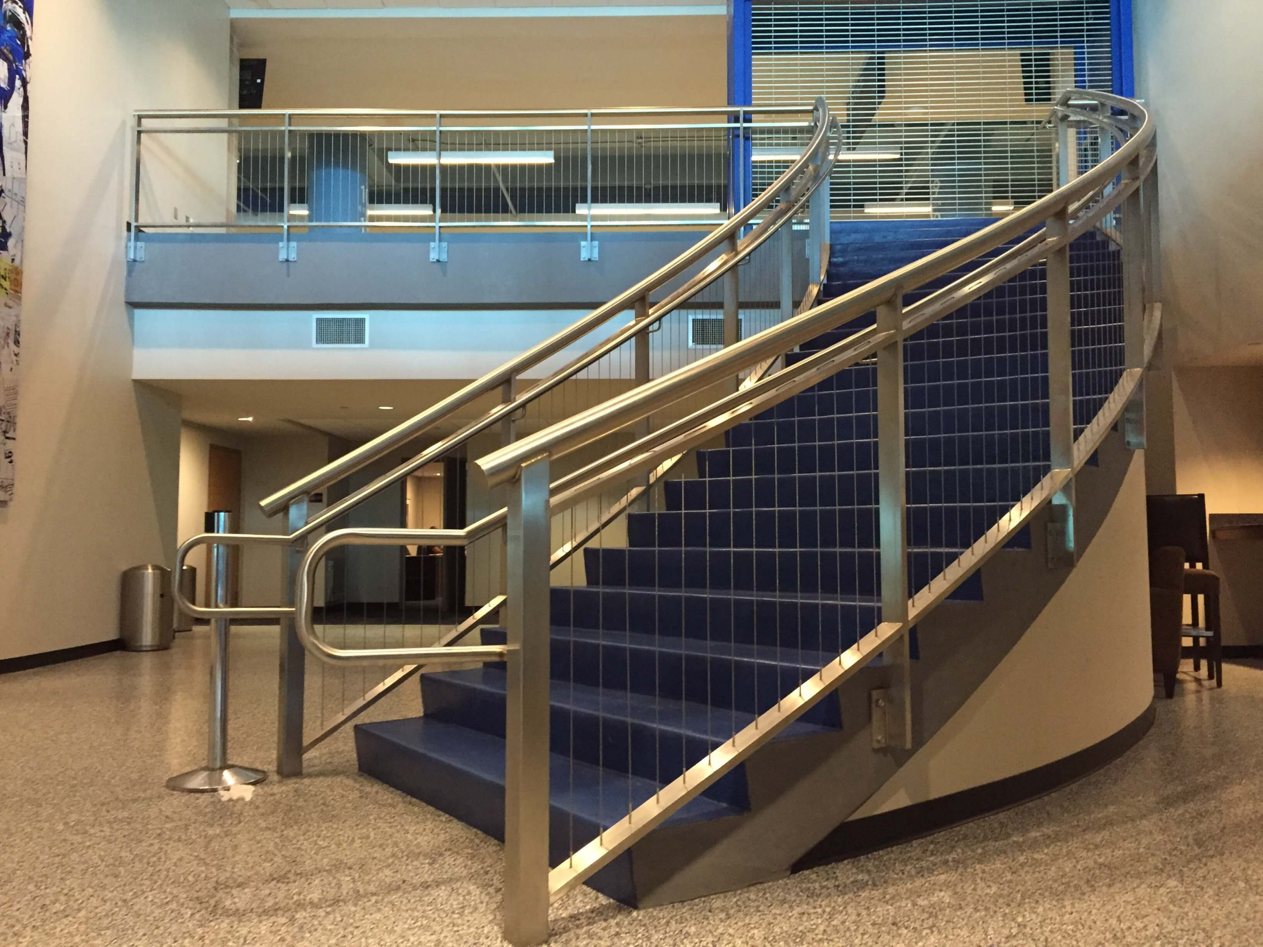 Stainless Steel Vertical Cable Railing