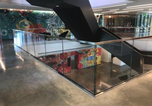 530SS Glass Railing