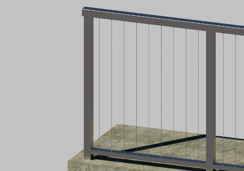G420S Cable Railing