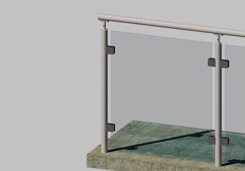 G510A Glass Railing